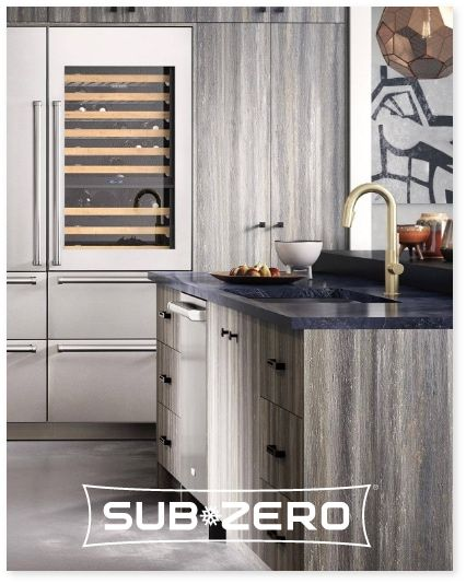 Sub-Zero reimagined refrigeration with customizable units tested and built to last for over 20 years of daily use.